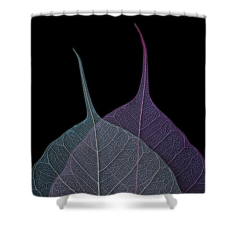 Leaves Shower Curtain featuring the photograph Vulnerability by Maggie Terlecki