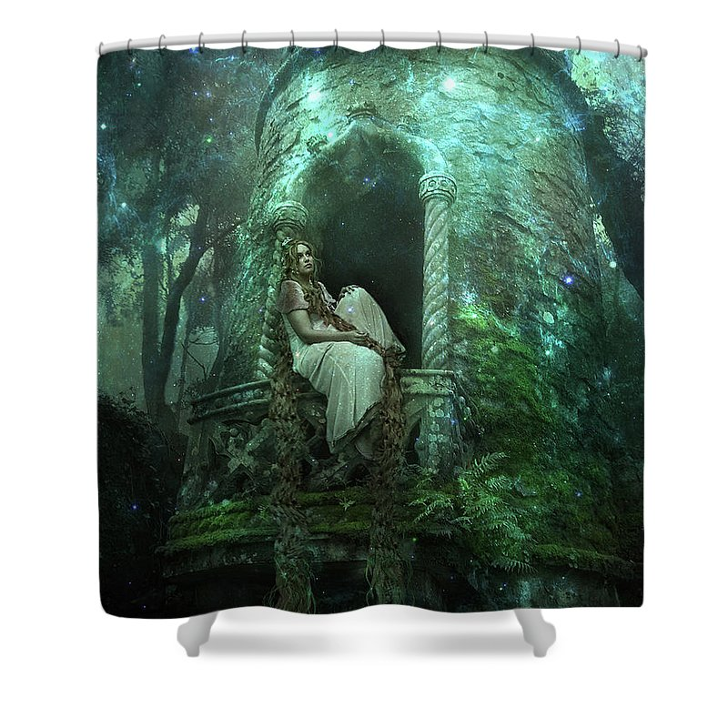 Waiting For My Love Shower Curtain For Sale By Elena Dudina