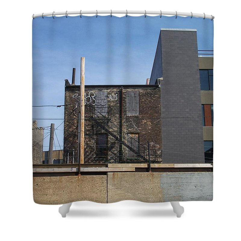 Walker's Point Shower Curtain featuring the photograph Walker's Point 2 by Anita Burgermeister