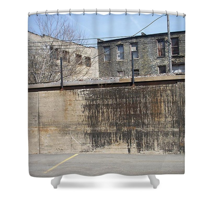Walker's Point Shower Curtain featuring the photograph Walker's Point 3 by Anita Burgermeister
