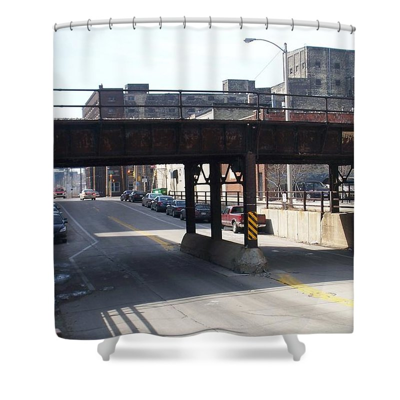 Walker's Point Shower Curtain featuring the photograph Walker's Point 4 by Anita Burgermeister