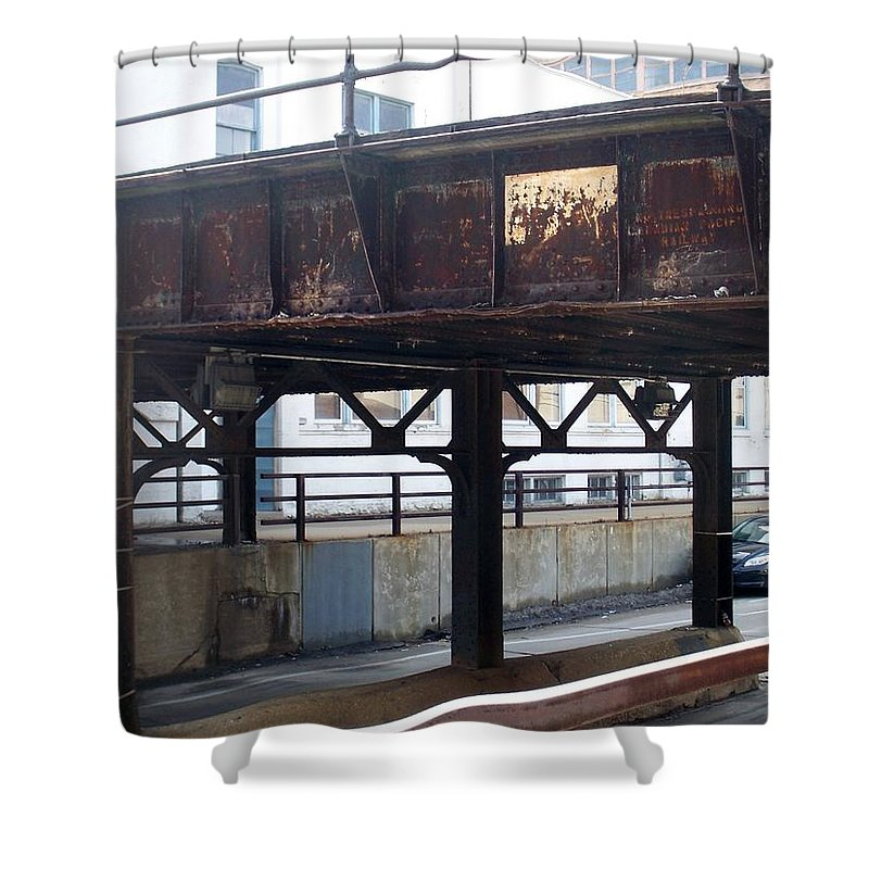 Walker's Point Shower Curtain featuring the photograph Walker's Point 5 by Anita Burgermeister