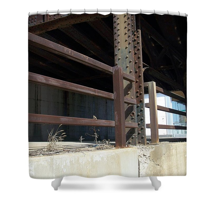 Walker's Point Shower Curtain featuring the photograph Walker's Point 8 by Anita Burgermeister