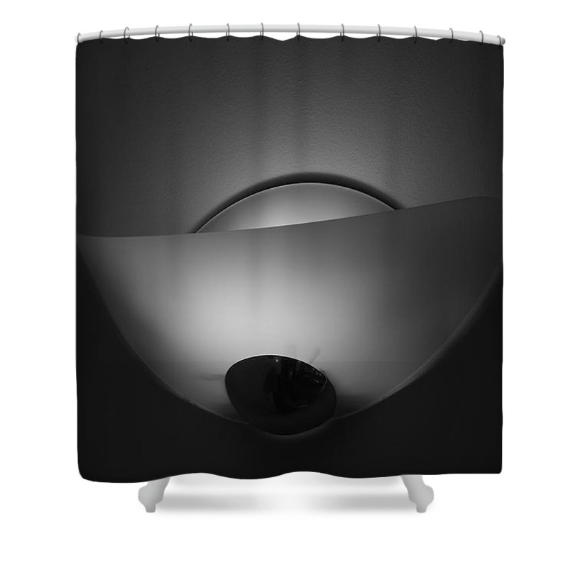 Light Shower Curtain featuring the photograph Wall Light by Rob Hans