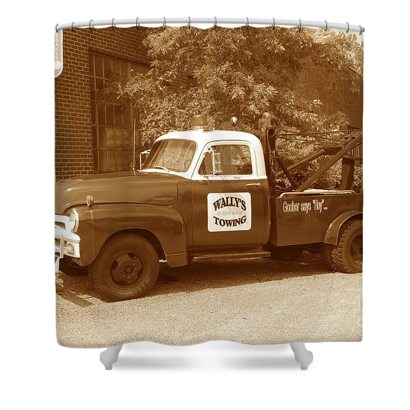 Antique Shower Curtain featuring the photograph Wally by Eric Liller