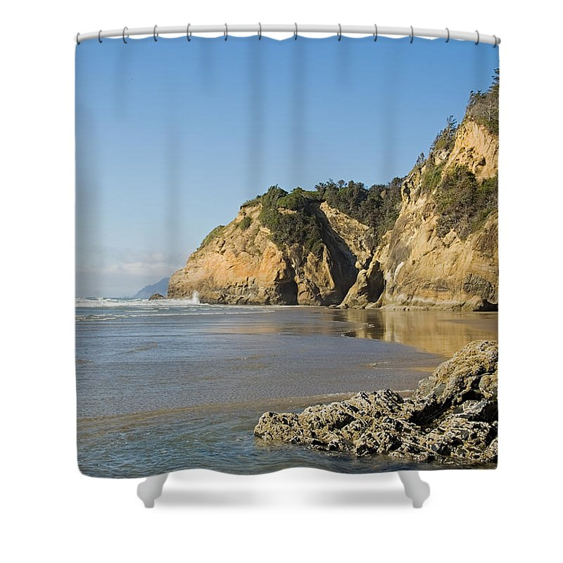 Landscape Shower Curtain featuring the photograph Washington Coast by Terry Wieckert