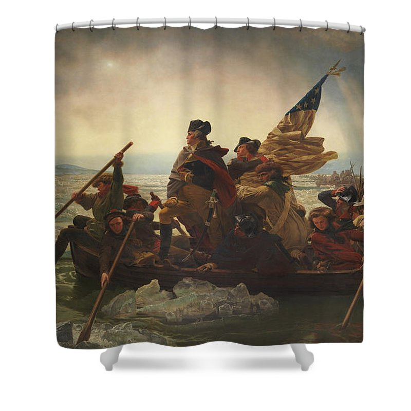 Continental Army Shower Curtains