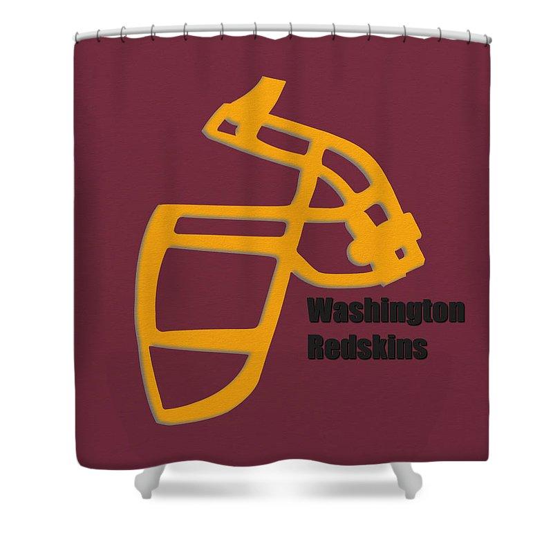 Washington Redskins Retro Shower Curtain For Sale By Joe Hamilton