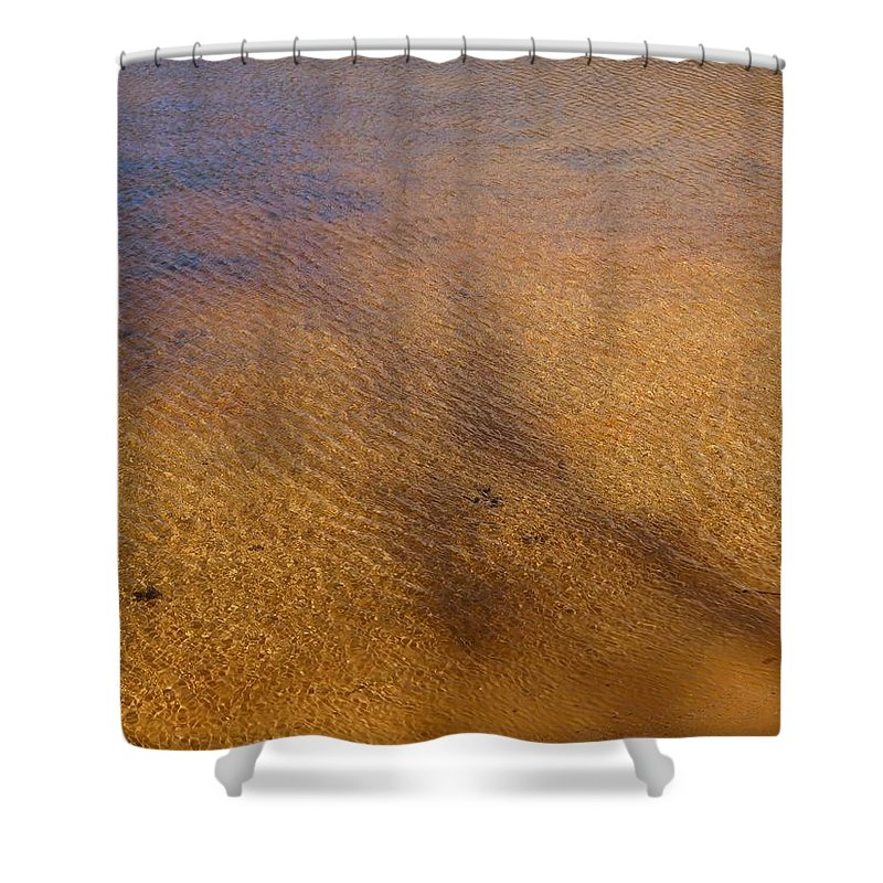 Shadow Shower Curtain featuring the photograph Water Abstract - 4 by Arlane Crump