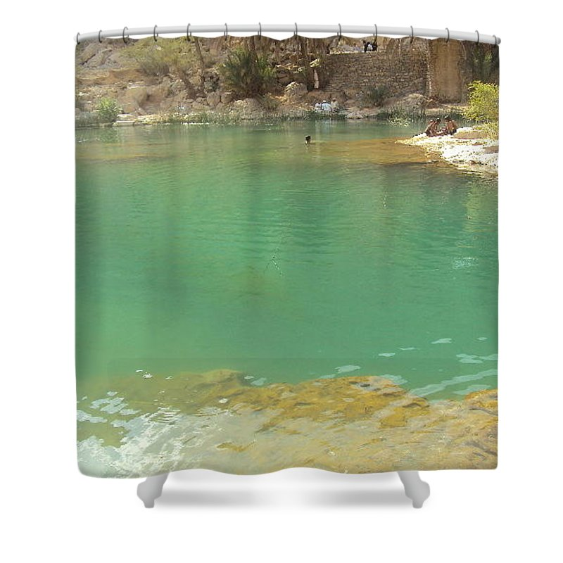 Shower Curtain featuring the photograph Water by Manoj John