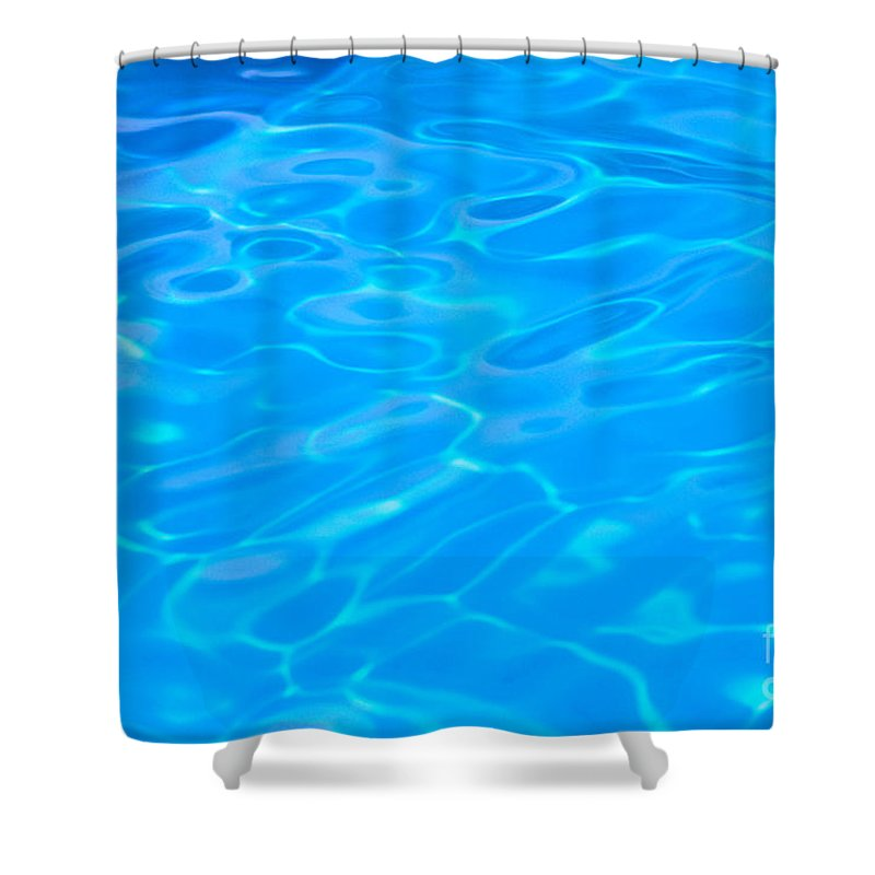 Beautiful Shower Curtain featuring the photograph Water Reflections by Mary Van de Ven - Printscapes