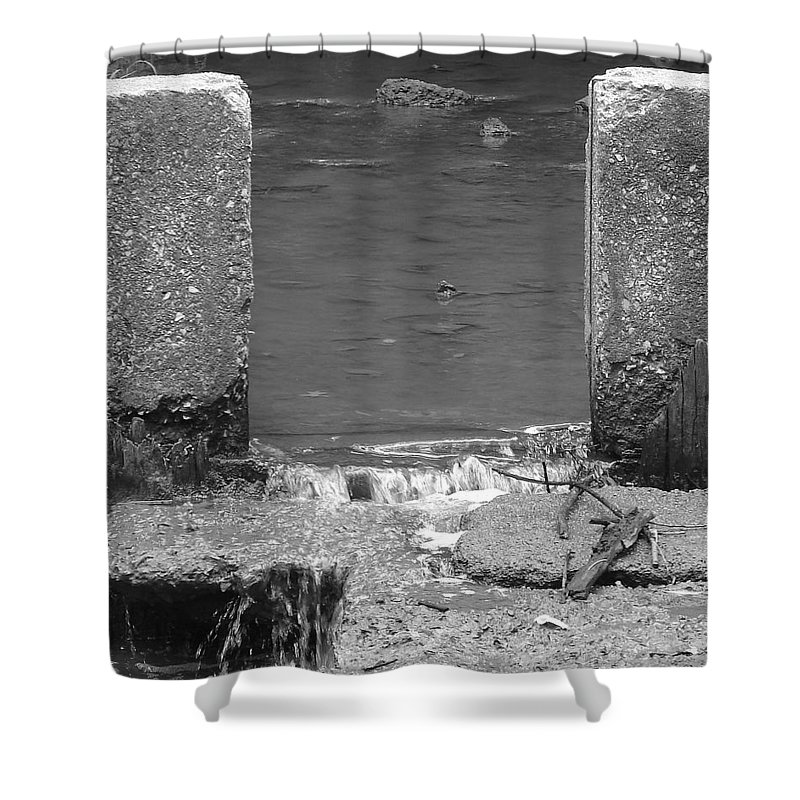 Shower Curtain featuring the photograph Water Way by Luciana Seymour