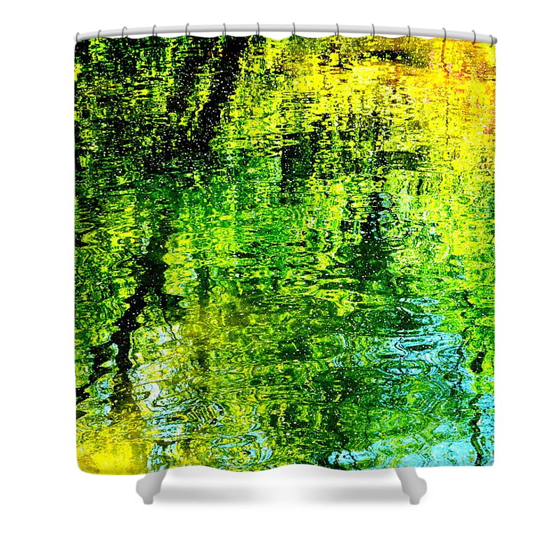 Marla Mcpherson Shower Curtain featuring the photograph Watercolors by Marla McPherson