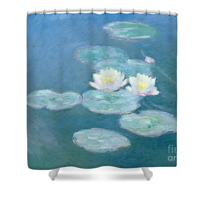 Lilies Paintings Shower Curtains
