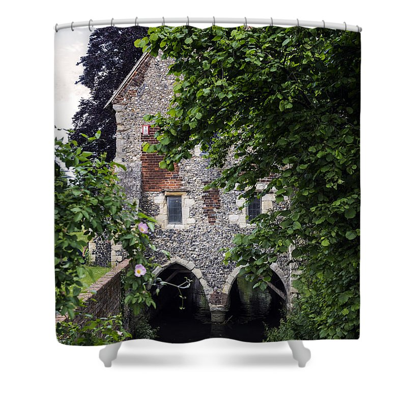 Nature Shower Curtain featuring the photograph Watermill by Joana Kruse