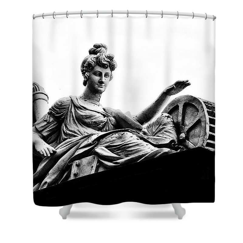 Goddess Shower Curtain featuring the photograph Waterworks Goddess by Bill Cannon