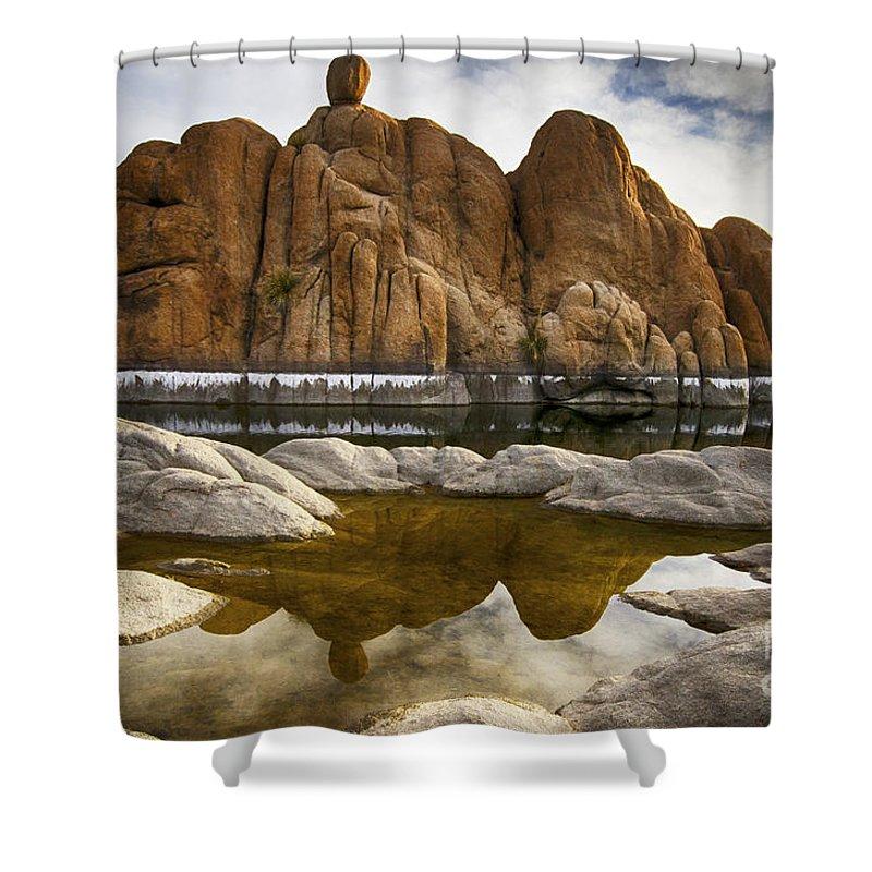 Watson Shower Curtain featuring the photograph Watson Lake Arizona 11 by Bob Christopher