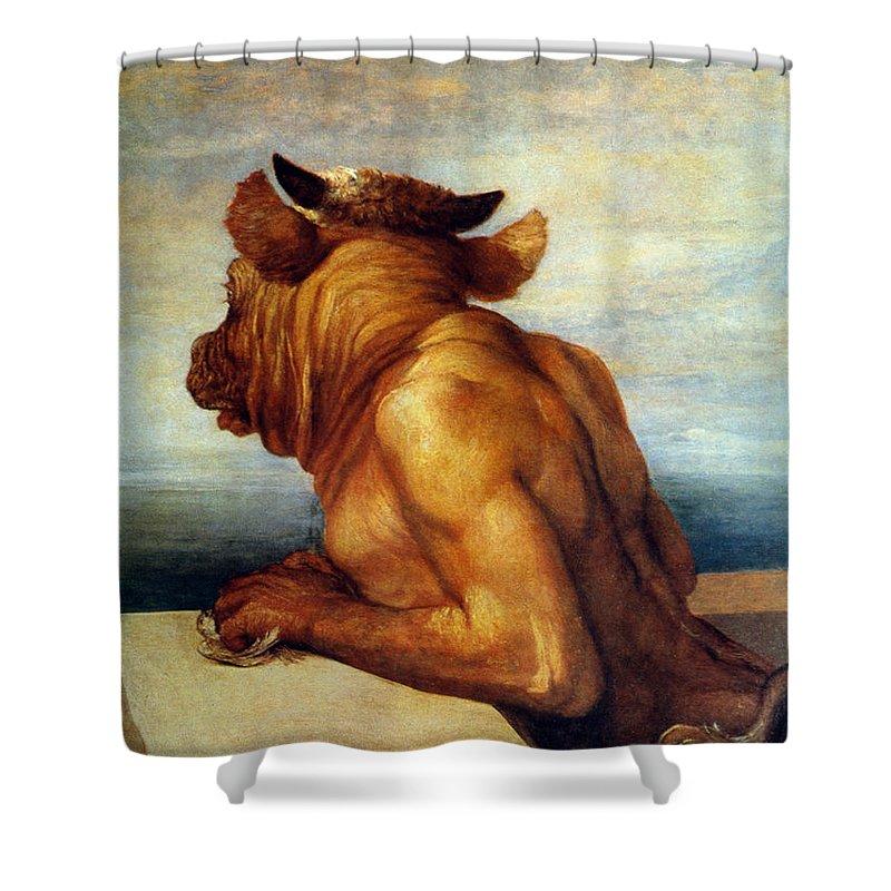 Minotaur Shower Curtains