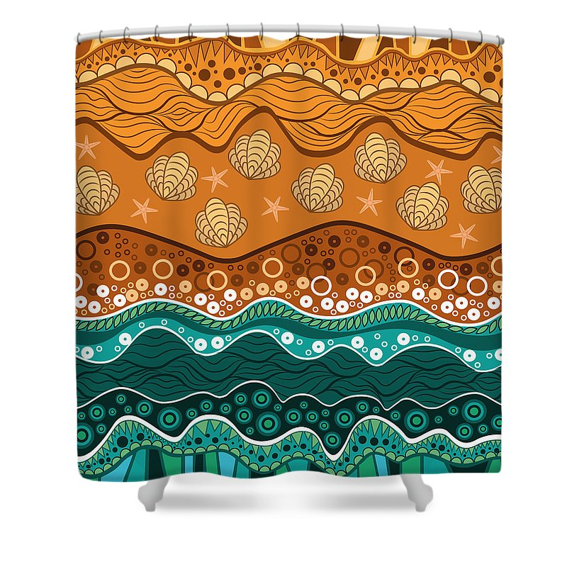 Digital Image Shower Curtains