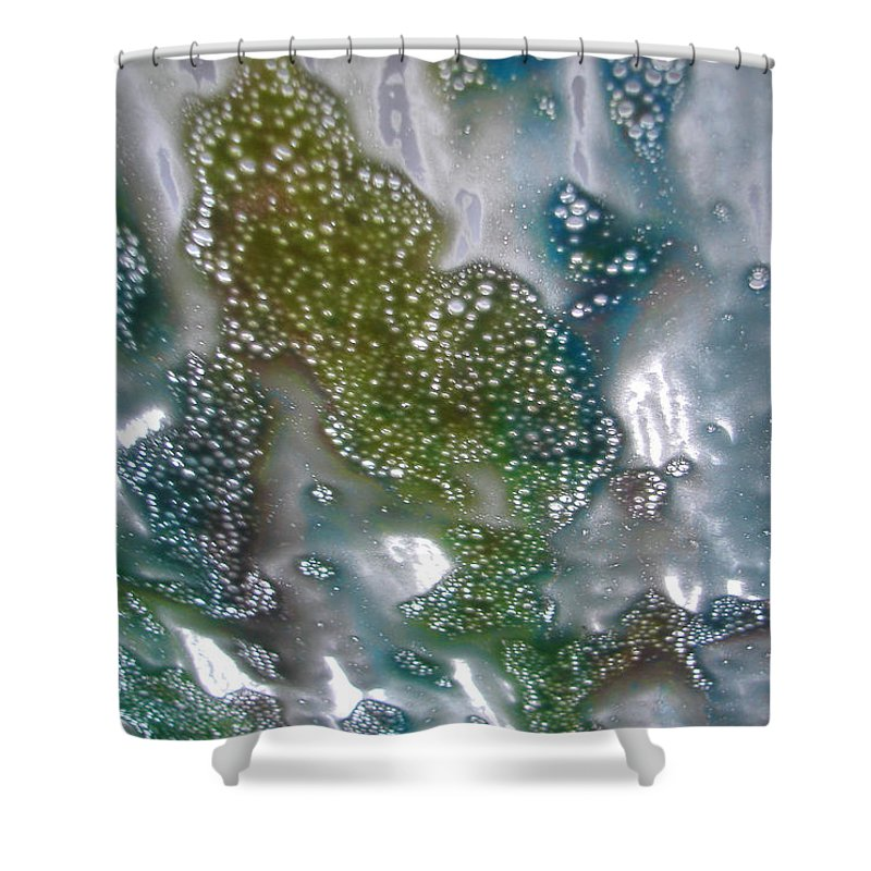 Shower Curtain featuring the photograph Wax On by Luciana Seymour