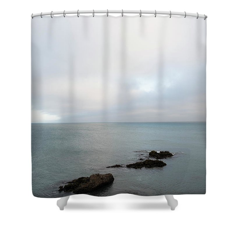 Sea Shower Curtain featuring the photograph We Found The Sea Of Green by Alex Lapidus