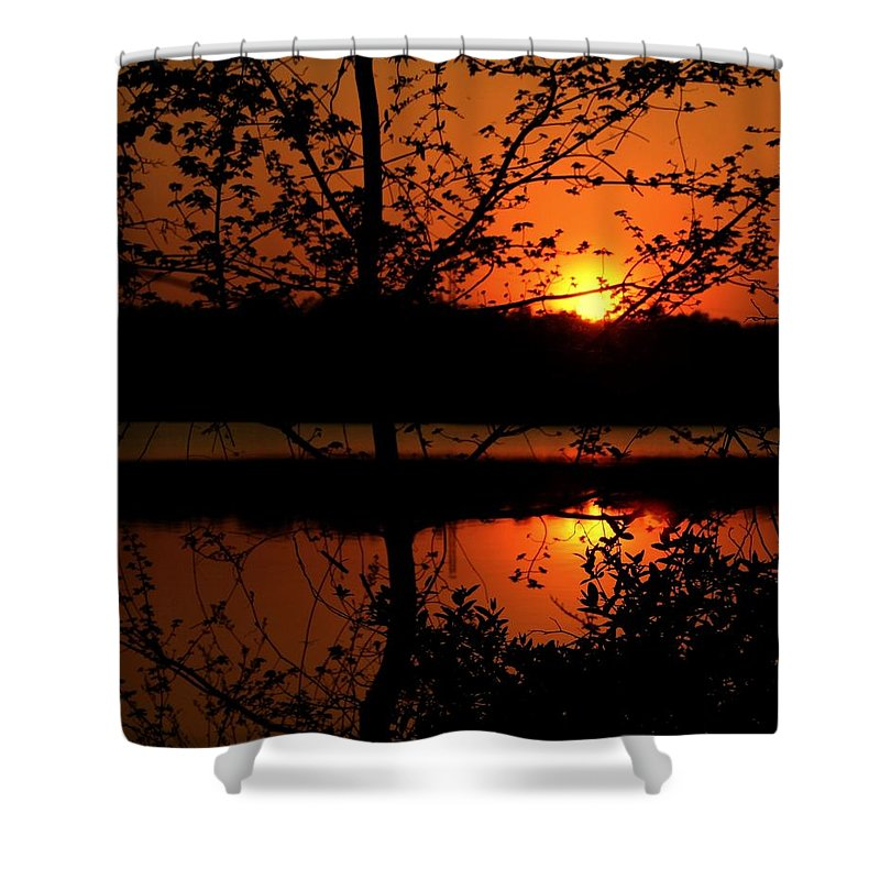 Landscape Shower Curtain featuring the photograph Wealth Of Nature by Mitch Cat