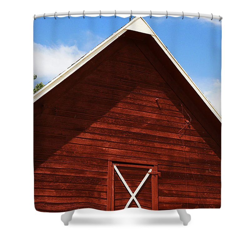 Weather Shower Curtain featuring the photograph Weather Vane by Marilyn Hunt
