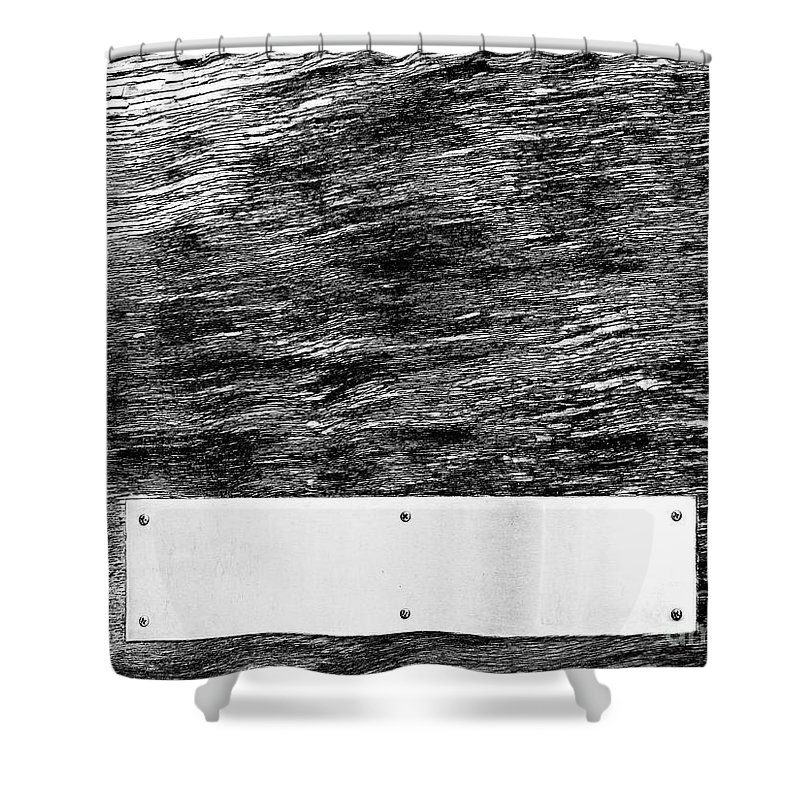 Dipasquale Shower Curtain featuring the photograph Weathered by Dana DiPasquale