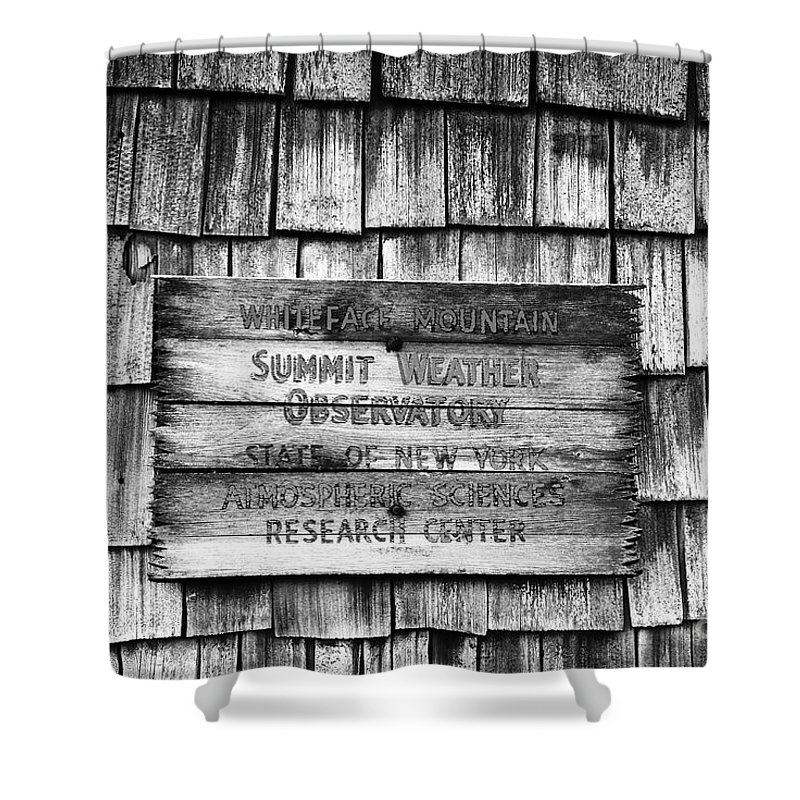Weather Shower Curtain featuring the photograph Weathered by David Lee Thompson