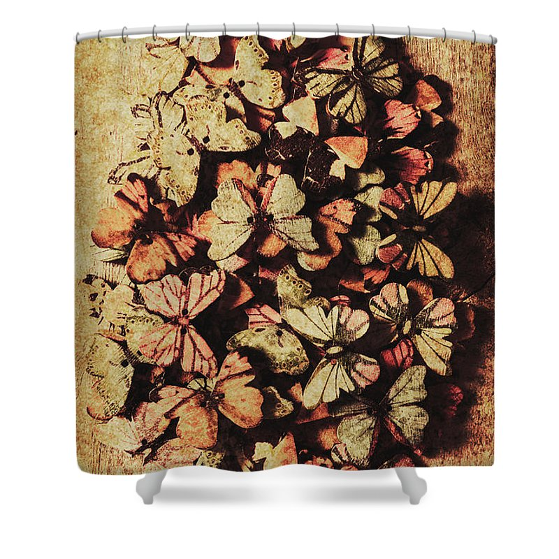 Vintage Shower Curtain featuring the photograph Weathered Love Nest by Jorgo Photography - Wall Art Gallery