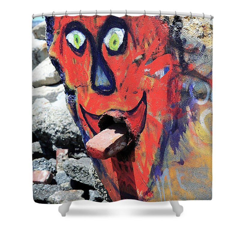 Rapture Shower Curtain featuring the photograph Welcome To Nowhere . The Day After Rapture by Wingsdomain Art and Photography