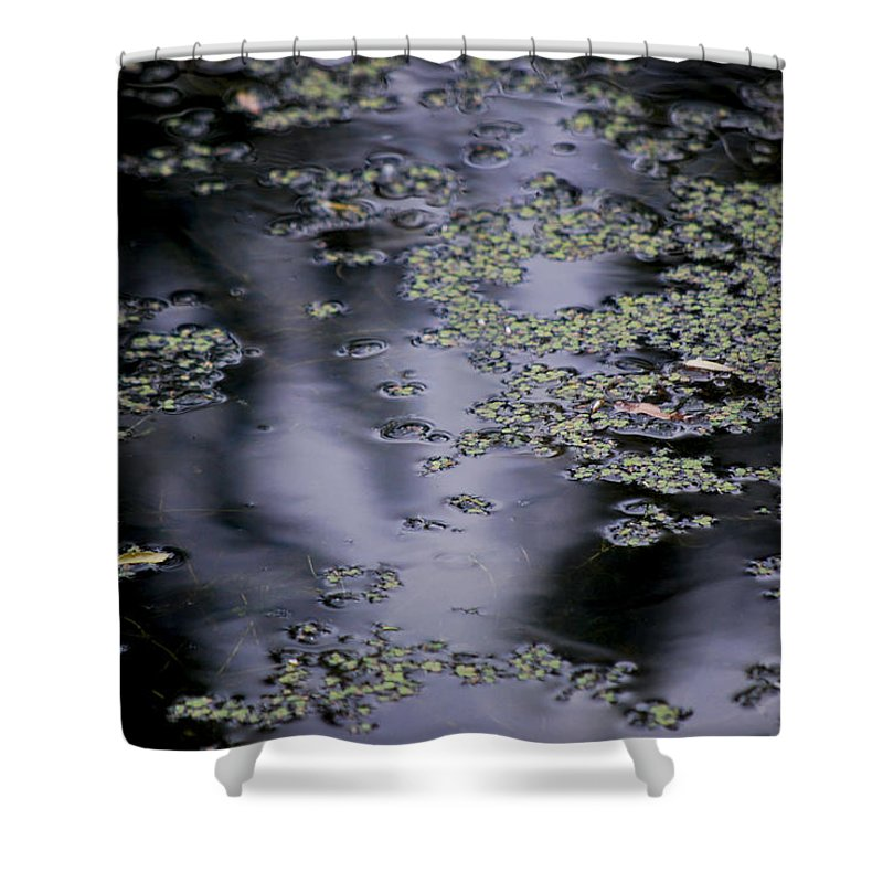Becky Furgason Shower Curtain featuring the photograph #wemeetinthesilence by Becky Furgason