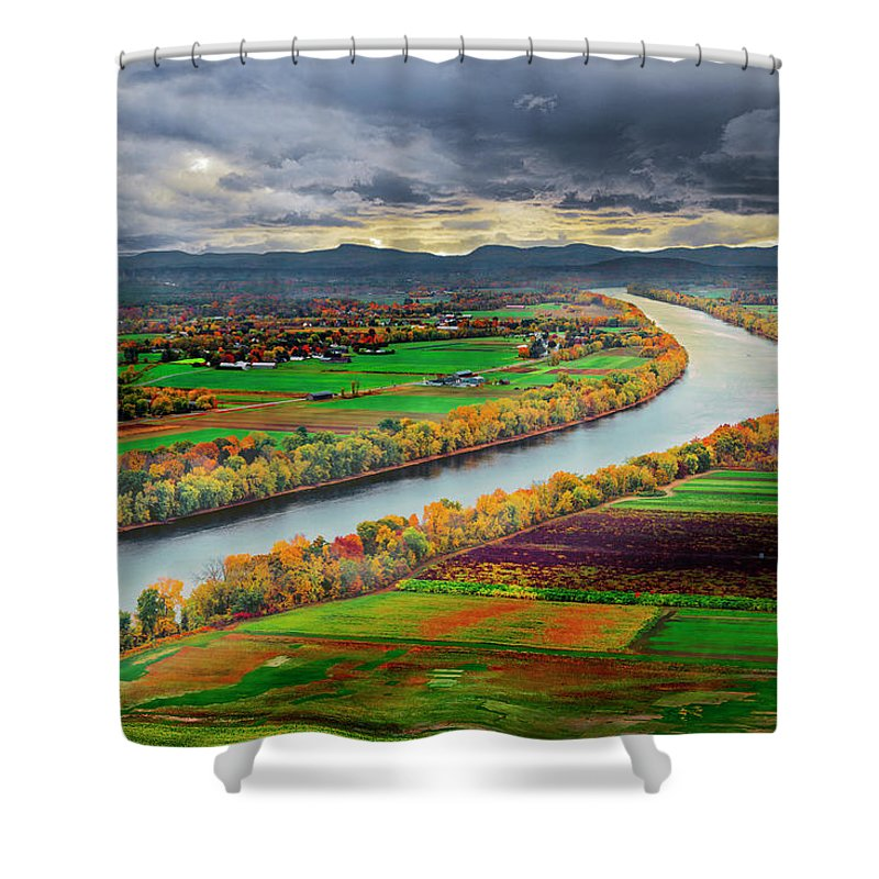 Places Shower Curtain featuring the photograph Western Massachusetts by Alisha Clarke