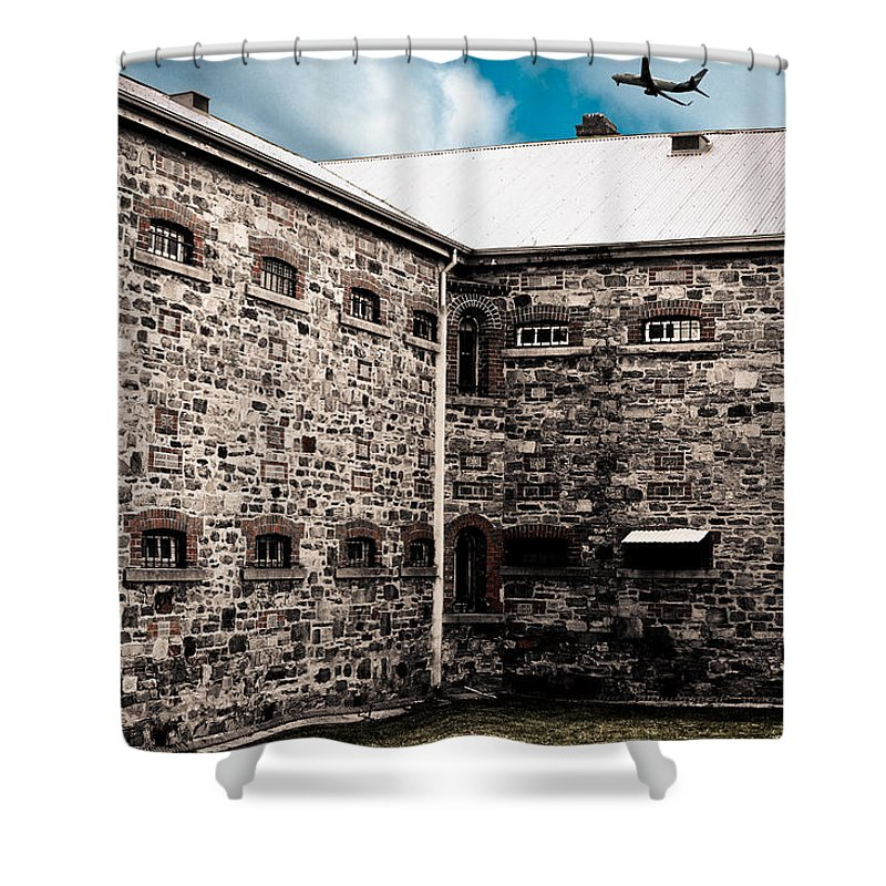 Freedom Shower Curtain featuring the photograph What Freedom Means by Kelly King