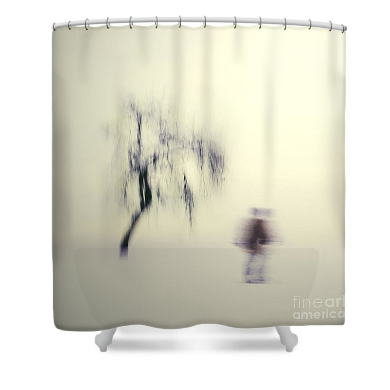 Blur Shower Curtain featuring the photograph What Is The Way To The Light by Dana DiPasquale