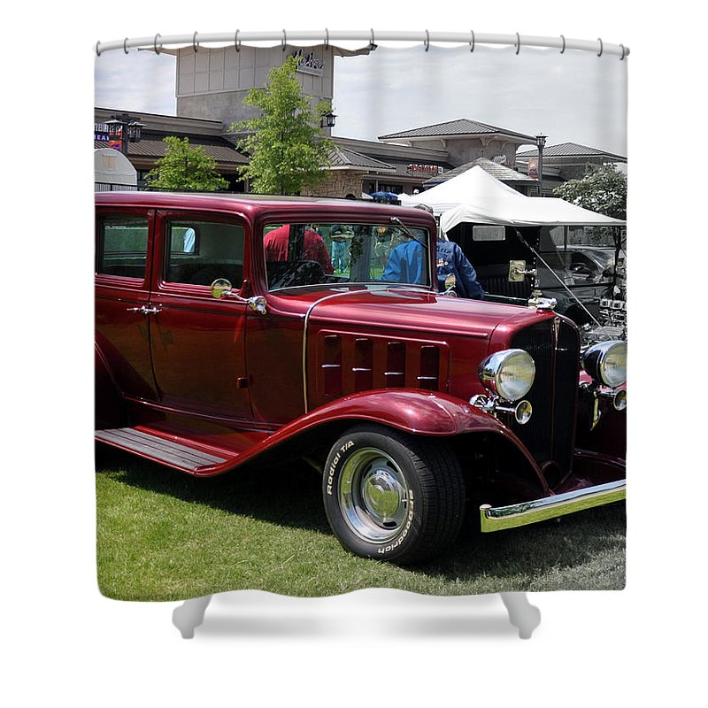 Antique Shower Curtain featuring the photograph What Suv by Terry Anderson