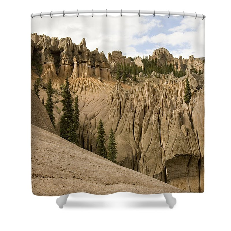 Colorado Shower Curtain featuring the photograph Wheeler Geological Area Is A Unique by Michael S. Lewis