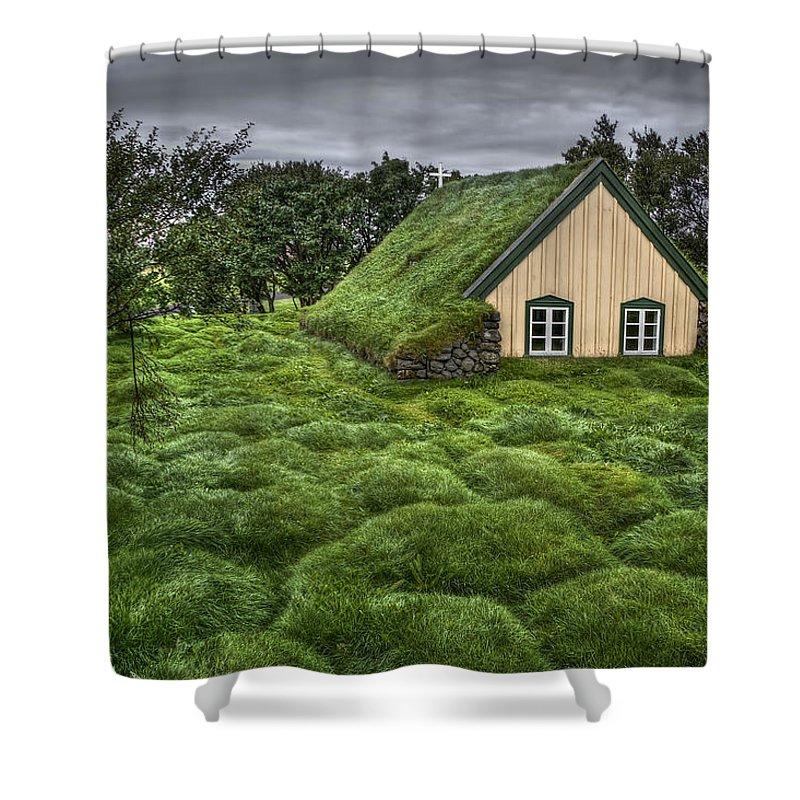 Church Shower Curtains