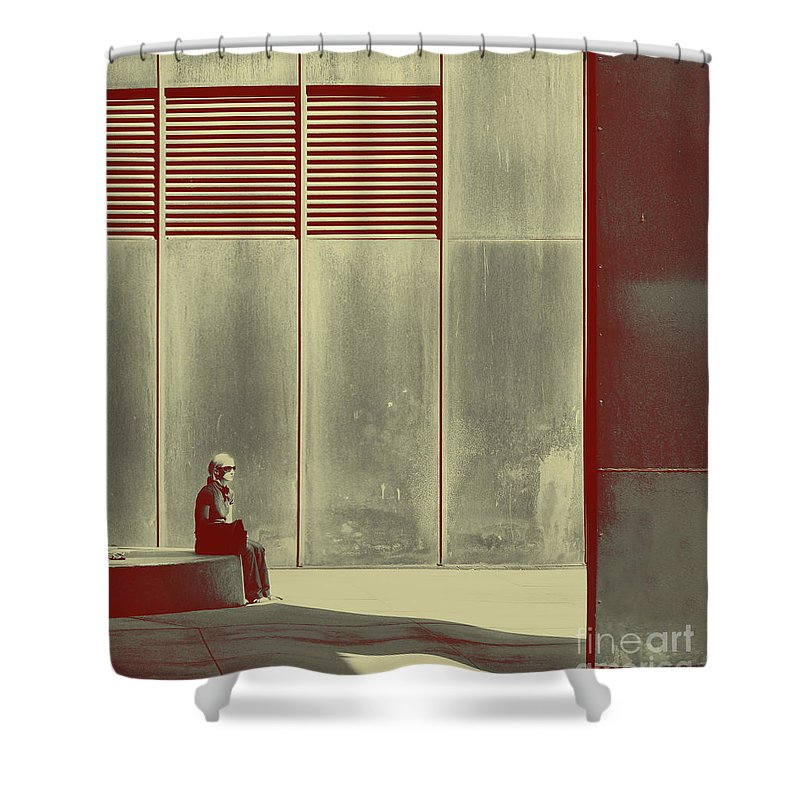 Alone Shower Curtain featuring the photograph When Shes Gone by Dana DiPasquale