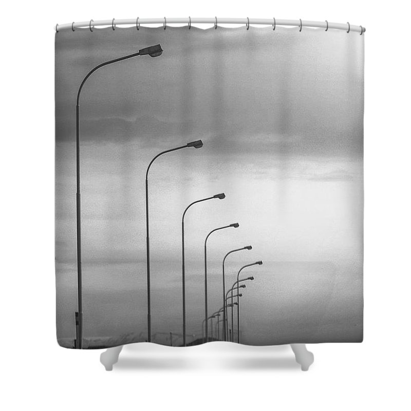 Kremsdorf Shower Curtain featuring the photograph Where The Streets Have No Name by Evelina Kremsdorf