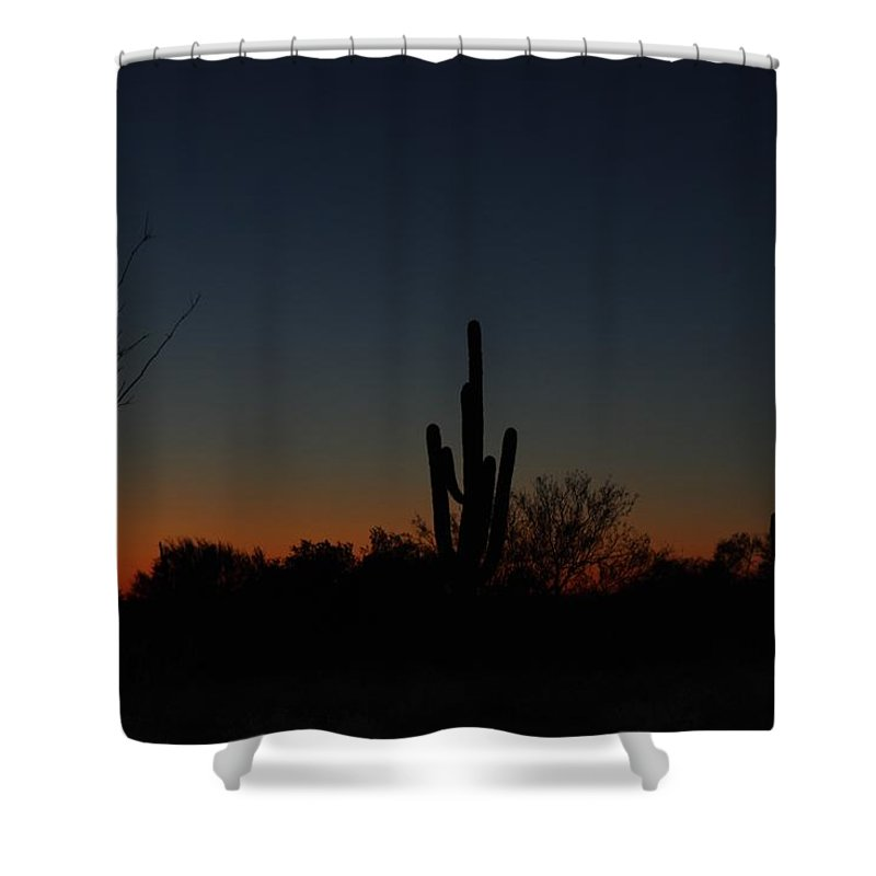 Landscape Shower Curtain featuring the photograph Whisper Of Light by David Dowlen