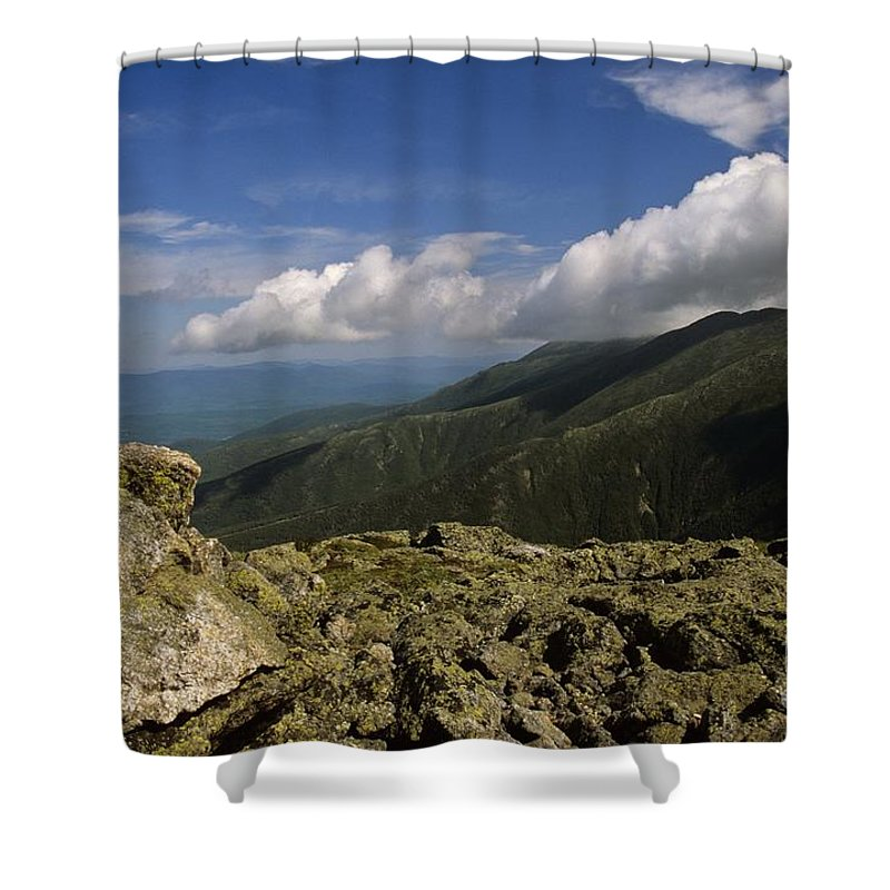 Appalachian Trail Shower Curtain featuring the photograph White Mountain National Forest - New Hampshire Usa by Erin Paul Donovan