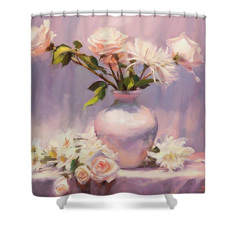 Lavender Rose Shower Curtains | Fine Art America