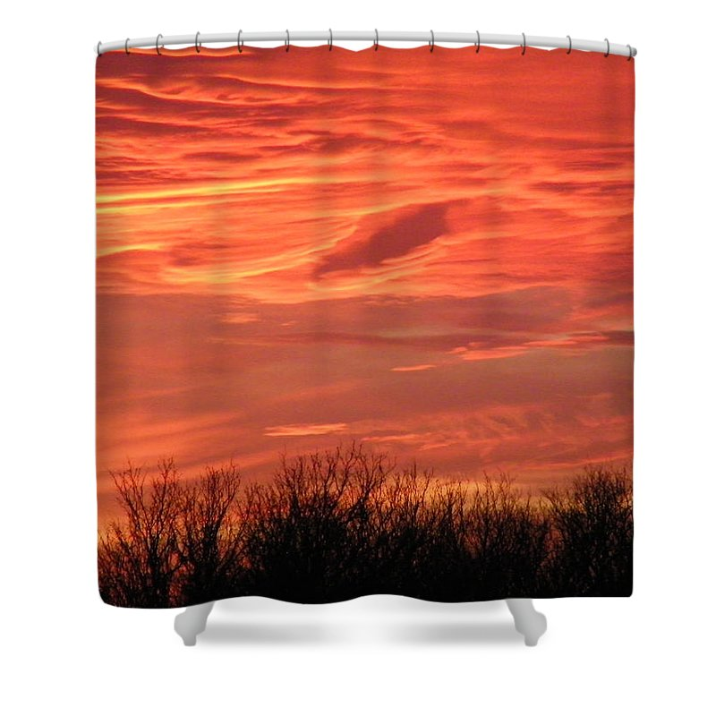 Sunset Shower Curtain featuring the photograph Who Needs Jupiter by Gale Cochran-Smith