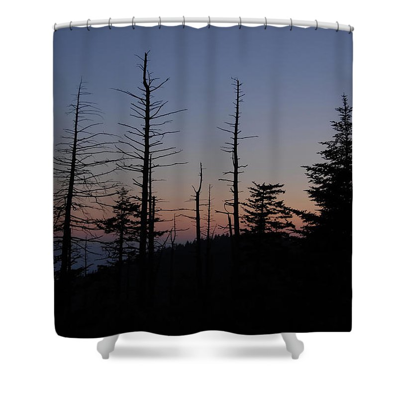 Wilderness Shower Curtain featuring the photograph Wilderness by David Lee Thompson