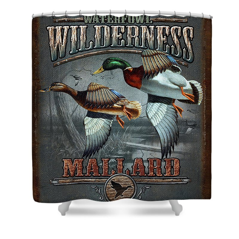 Waterfowl Shower Curtains