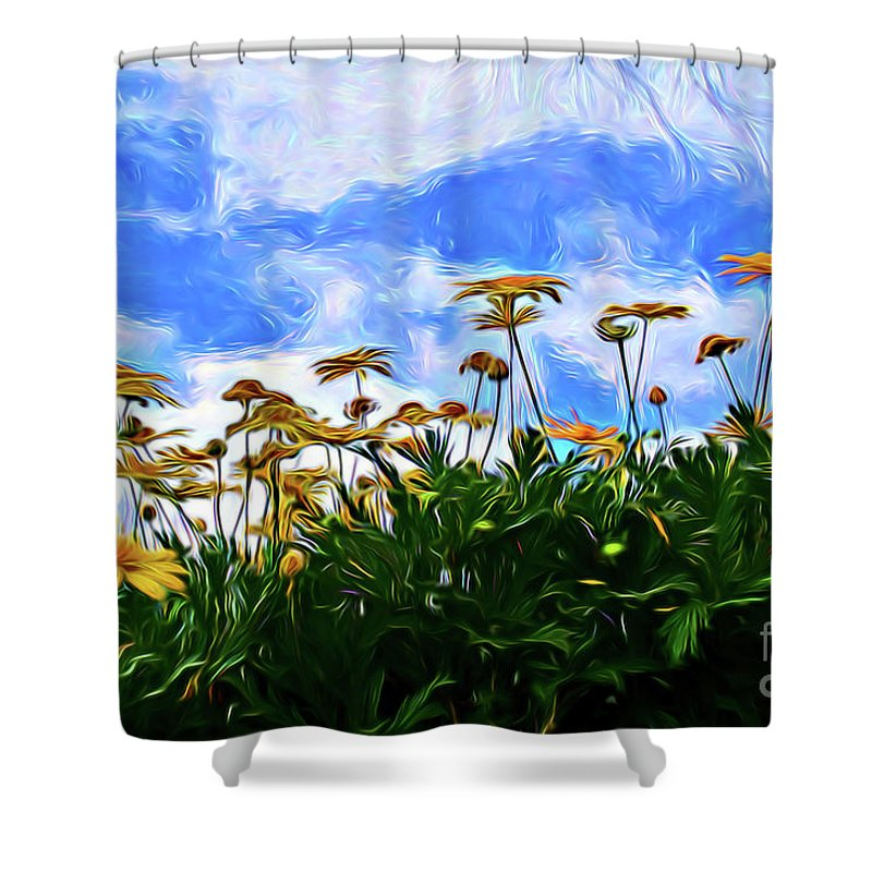 Wildflowers 11318 Shower Curtain featuring the photograph Wildflowers 11318 by Ray Shrewsberry