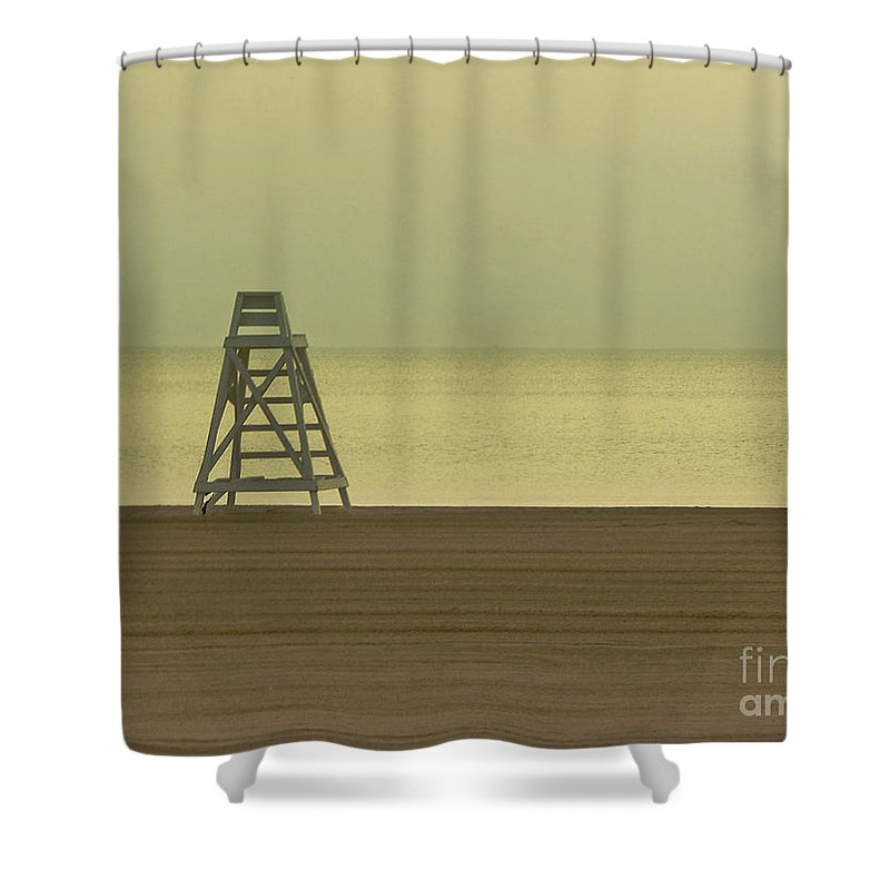Beach Shower Curtain featuring the photograph Will You Lay Here With Me and Just Forget the World by Dana DiPasquale