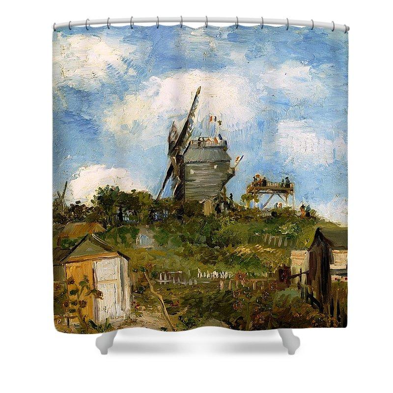 Farm Shower Curtain featuring the photograph Windmill In Farm by Sumit Mehndiratta