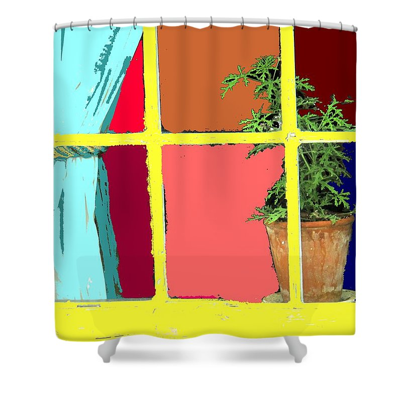 Window Shower Curtain featuring the photograph Window by Ian MacDonald